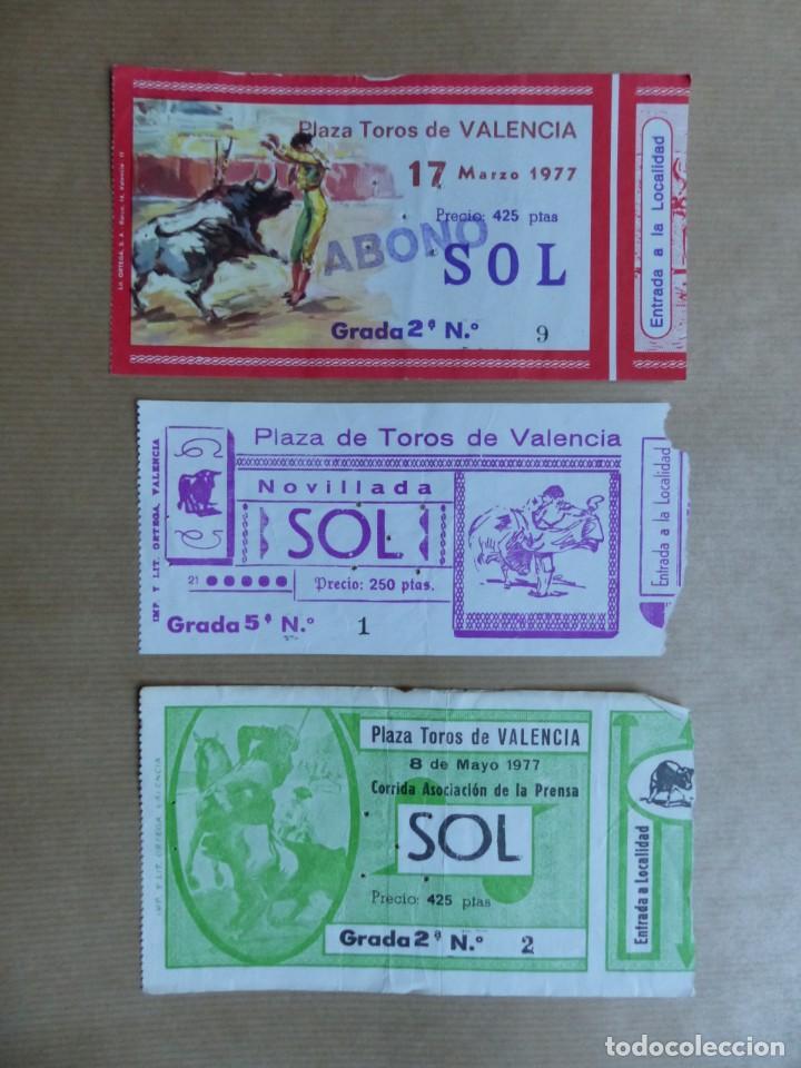 Tauromaquia: 107 ANTIGUAS ENTRADAS TOROS DE LOS AÑOS 1960-1970, VER FOTOS ADICIONALES - Foto 14 - 234712390