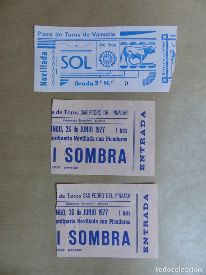 Tauromaquia: 107 ANTIGUAS ENTRADAS TOROS DE LOS AÑOS 1960-1970, VER FOTOS ADICIONALES - Foto 15 - 234712390
