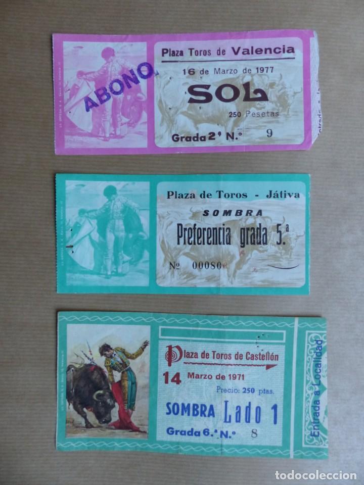 Tauromaquia: 107 ANTIGUAS ENTRADAS TOROS DE LOS AÑOS 1960-1970, VER FOTOS ADICIONALES - Foto 16 - 234712390