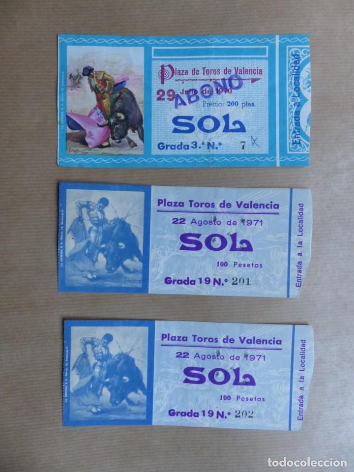 Tauromaquia: 107 ANTIGUAS ENTRADAS TOROS DE LOS AÑOS 1960-1970, VER FOTOS ADICIONALES - Foto 20 - 234712390