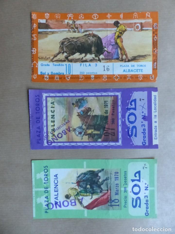 Tauromaquia: 107 ANTIGUAS ENTRADAS TOROS DE LOS AÑOS 1960-1970, VER FOTOS ADICIONALES - Foto 24 - 234712390