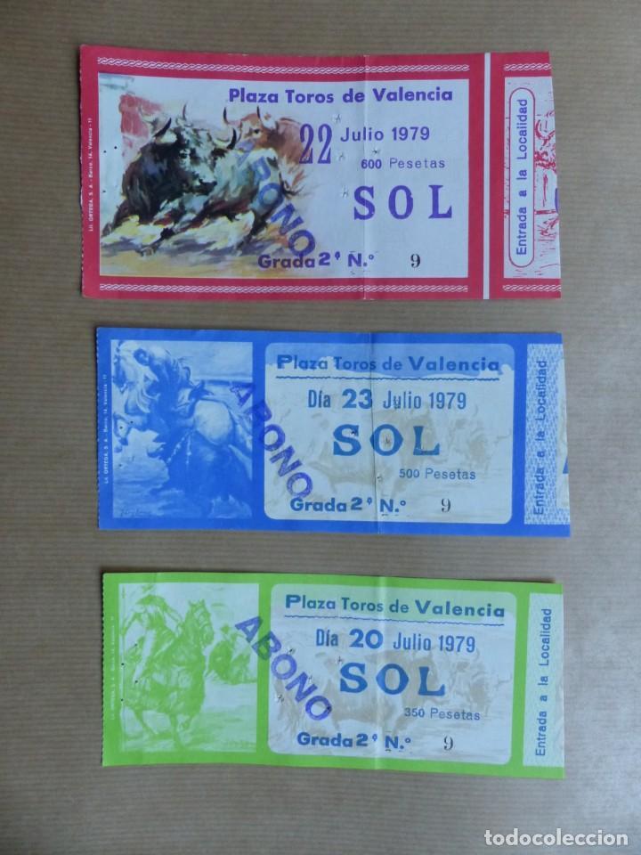 Tauromaquia: 107 ANTIGUAS ENTRADAS TOROS DE LOS AÑOS 1960-1970, VER FOTOS ADICIONALES - Foto 28 - 234712390