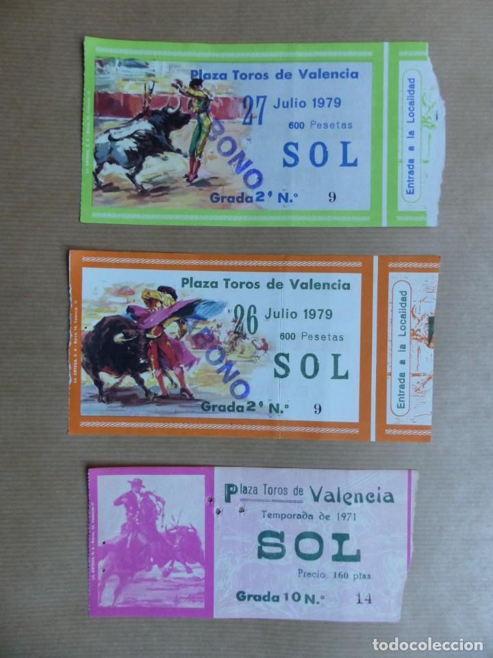 Tauromaquia: 107 ANTIGUAS ENTRADAS TOROS DE LOS AÑOS 1960-1970, VER FOTOS ADICIONALES - Foto 31 - 234712390