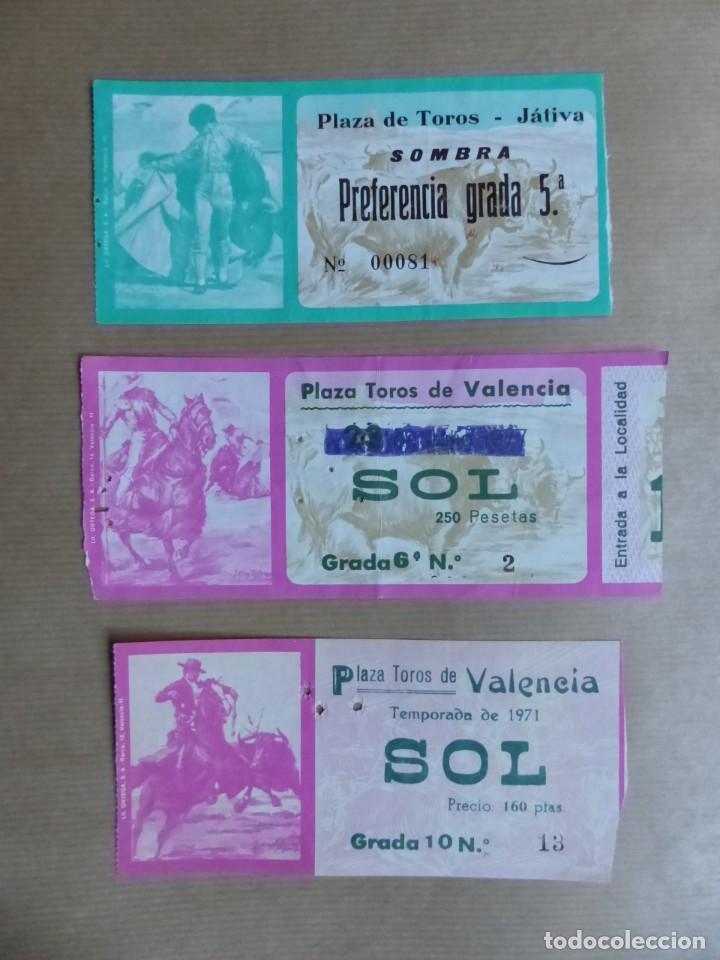 Tauromaquia: 107 ANTIGUAS ENTRADAS TOROS DE LOS AÑOS 1960-1970, VER FOTOS ADICIONALES - Foto 32 - 234712390