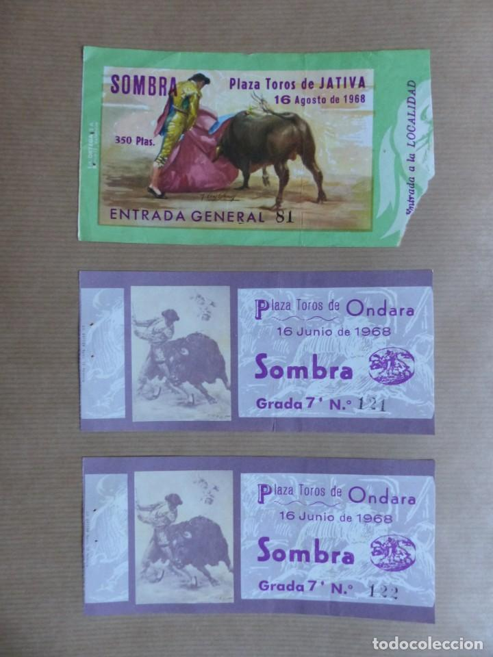 Tauromaquia: 107 ANTIGUAS ENTRADAS TOROS DE LOS AÑOS 1960-1970, VER FOTOS ADICIONALES - Foto 34 - 234712390
