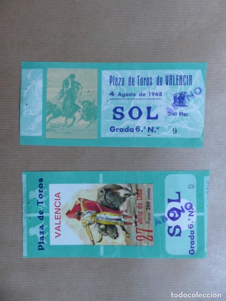Tauromaquia: 107 ANTIGUAS ENTRADAS TOROS DE LOS AÑOS 1960-1970, VER FOTOS ADICIONALES - Foto 37 - 234712390