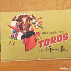 Tauromaquia: LIBRO POSTALES TOROS. Lote 235806140