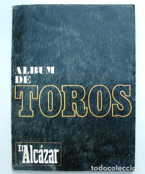 ALBUM 1967 TOROS. TOREROS, GANADERIAS, REGLAMENTO, SUERTES. JOKER. BUEN ESTADO (Coleccionismo - Tauromaquia)