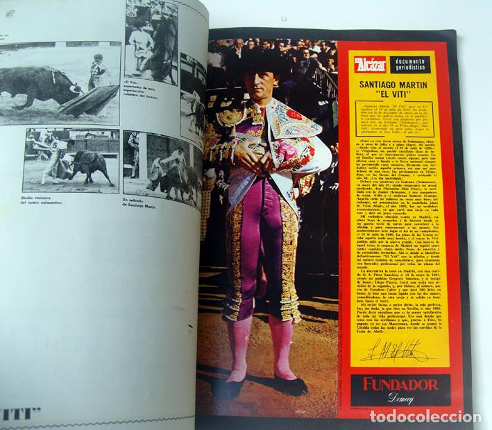 Tauromaquia: ALBUM 1967 Toros. Toreros, ganaderias, reglamento, suertes. Joker. Buen estado - Foto 9 - 235974355