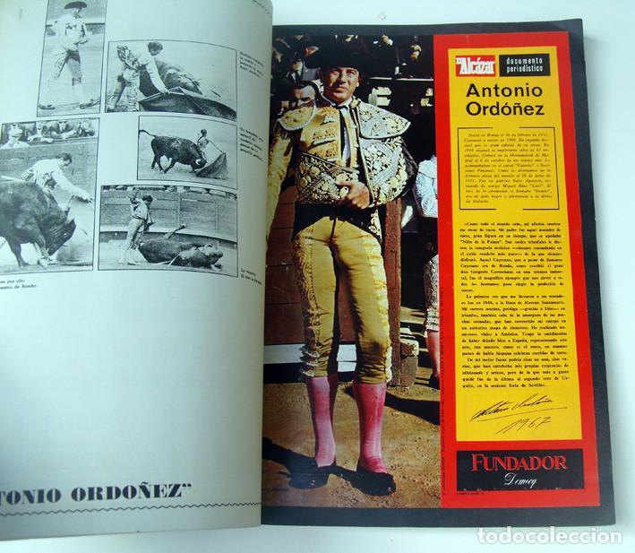 Tauromaquia: ALBUM 1967 Toros. Toreros, ganaderias, reglamento, suertes. Joker. Buen estado - Foto 15 - 235974355