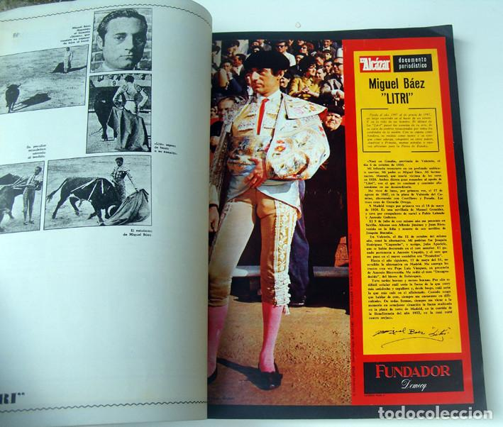 Tauromaquia: ALBUM 1967 Toros. Toreros, ganaderias, reglamento, suertes. Joker. Buen estado - Foto 16 - 235974355