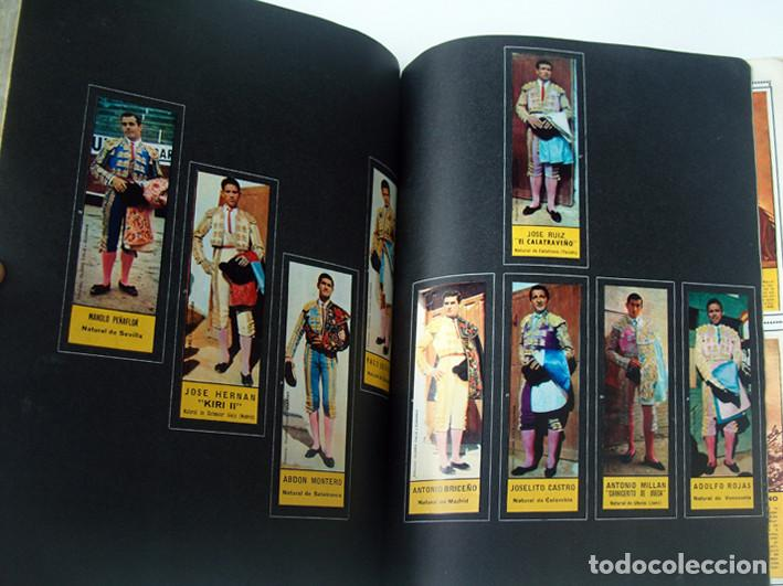 Tauromaquia: ALBUM 1967 Toros. Toreros, ganaderias, reglamento, suertes. Joker. Buen estado - Foto 19 - 235974355