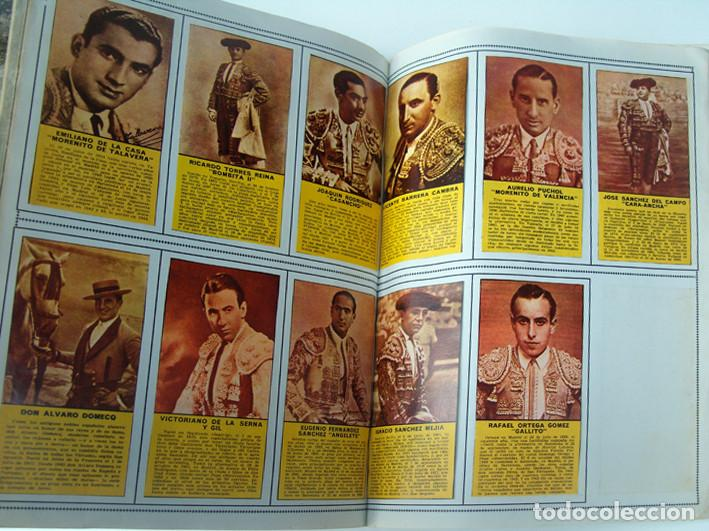 Tauromaquia: Album 1967 Toros. Toreros, ganaderias, reglamento, suertes. Joker. Buen estado - Foto 22 - 235974355