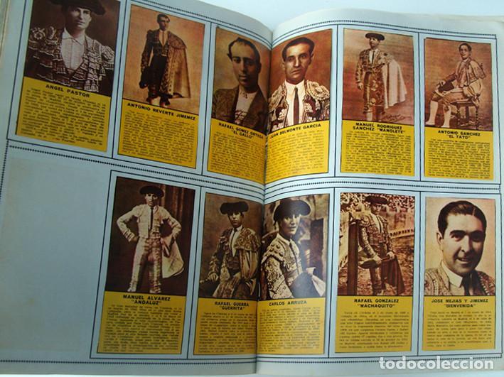 Tauromaquia: ALBUM 1967 Toros. Toreros, ganaderias, reglamento, suertes. Joker. Buen estado - Foto 23 - 235974355