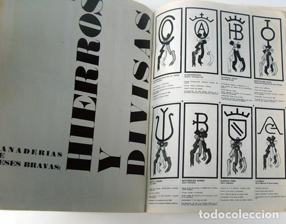 Tauromaquia: ALBUM 1967 Toros. Toreros, ganaderias, reglamento, suertes. Joker. Buen estado - Foto 24 - 235974355