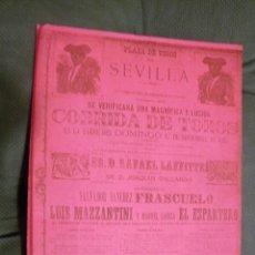 Tauromaquia: CATÁLOGO DE EXPOSICIÓN TAURINA.. Lote 239697810