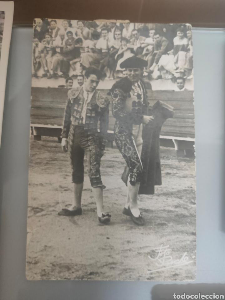 Tauromaquia: LOTE 12X ANTIGUAS FOTOS TOREROS Y TOROS AÑOS 60 Y 70 - Foto 3 - 240905300