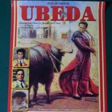 Tauromachie: CARTEL DE TOROS TAUROMAQUIA PLAZA DE TOROS ÚBEDA, JAEN. 2006. RIVERA ORDOÑEZ, MIURA. 34CM. 75. Lote 243491835