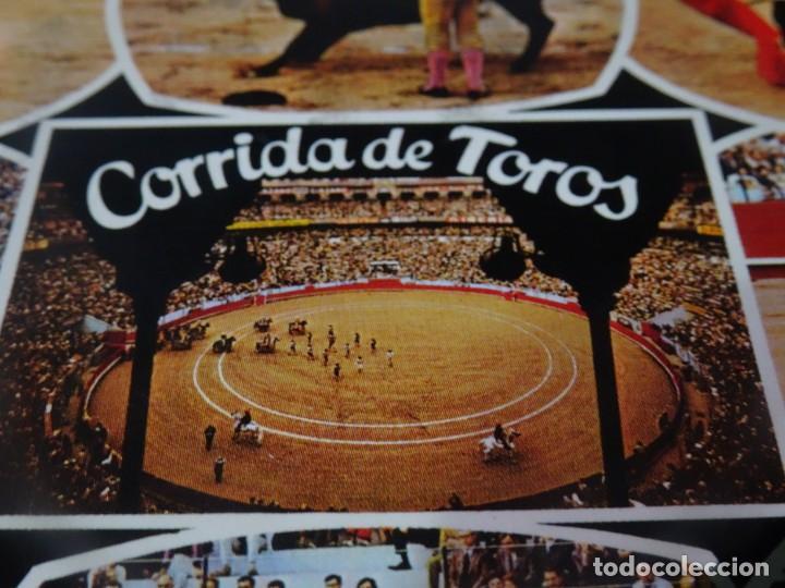 Tauromaquia: ANTIGUA POSTAL CPSM , CORRIDA DE TOROS, MULTI VISTAS, VER FOTOS - Foto 2 - 244402600