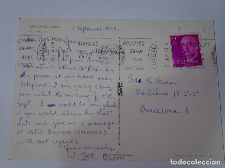 Tauromaquia: ANTIGUA POSTAL CPSM , CORRIDA DE TOROS, MULTI VISTAS, VER FOTOS - Foto 3 - 244402600