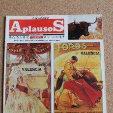 Tauromaquia: REVISTA APLAUSOS Nº 430. 23 DICIEMBRE 1985. TOROS EN VALENCIA. Lote 244510720