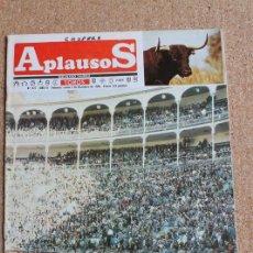 Tauromaquia: REVISTA APLAUSOS Nº 427. 2 DICIEMBRE 1985. PLAZA DE MADRID. Lote 244511480