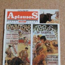 Tauromaquia: REVISTA APLAUSOS Nº 426. 25 NOVIEMBRE 1985. TOROS EN VALENCIA. Lote 244511640