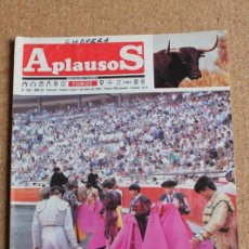 Tauromaquia: REVISTA APLAUSOS Nº 693. 7 ENERO 1991. CAPOTES DE BREGA. Lote 244512335