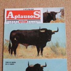 Tauromaquia: REVISTA APLAUSOS Nº 420. 14 OCTUBRE 1985. TORO DE MIURA EN EL CAMPO. Lote 244513005
