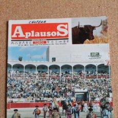 Tauromaquia: REVISTA APLAUSOS Nº 416. 16 SEPTIEMBRE 1985. FERIA DE SAN MATEO LOGROÑO. Lote 244513560