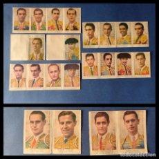 Tauromaquia: FAMOSOS TOREROS 22 CROMOS DE TOREROS FAMOSOS. Lote 244515385