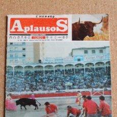 Tauromaquia: REVISTA APLAUSOS Nº 397. 6 MAYO 1985. LOS MONOSABIOS. Lote 244516015