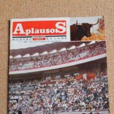 Tauromaquia: REVISTA APLAUSOS Nº 412. 19 AGOSTO 1985. FERIA DE BILBAO. Lote 244516520