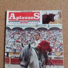 Tauromaquia: REVISTA APLAUSOS Nº 507. 15 JUNIO 1987. ANDRES VELEZ. Lote 244571945