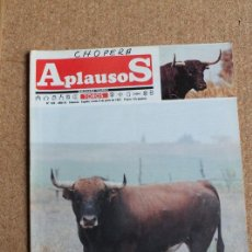 Tauromaquia: REVISTA APLAUSOS Nº 506. 8 JUNIO 1987. TORO DE EDUARDO MIURA. Lote 244572160