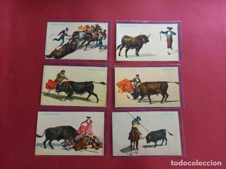 Tauromaquia: 6 POSTALES DE TAUROMAQUIA ANTIGUAS -PRINCIPIOS DE SIGLO - Foto 2 - 244641225