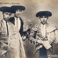 Tauromachie: GALLO, GALLITO I BELMONTE. Lote 245244385