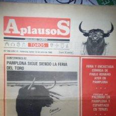 Tauromaquia: REVISTA APLAUSOS Nº 250. AÑO 1982. Lote 245582715