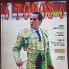Tauromaquia: REVISTA DE ACTUALIDAD TAURINA 6 TOROS 6 Nº 954 9 OCTUBRE 2012. Lote 246177180
