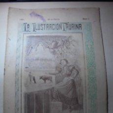 Tauromaquia: MAGNIFICAS 8 REVISTAS ANTIGUAS LA ILUSTRACION TAURINA DEL 1901. Lote 247329780