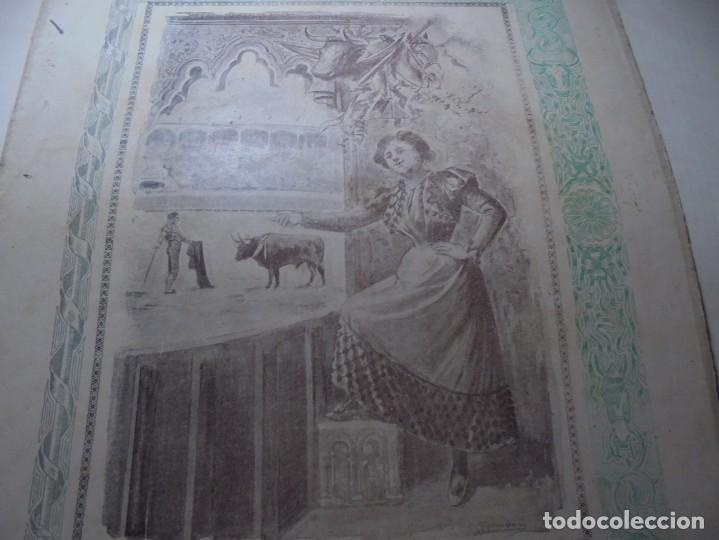 Tauromaquia: magnificas 8 revistas antiguas la ilustracion taurina del 1901 - Foto 5 - 247329780