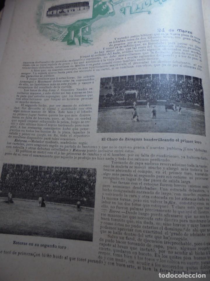 Tauromaquia: magnificas 8 revistas antiguas la ilustracion taurina del 1901 - Foto 9 - 247329780