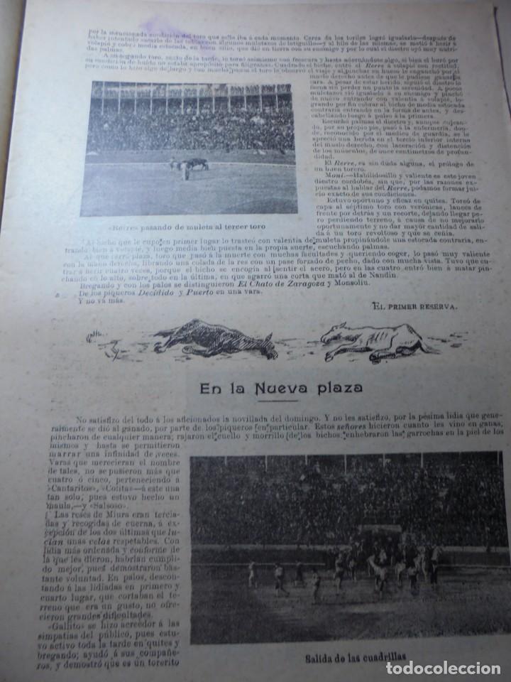 Tauromaquia: magnificas 8 revistas antiguas la ilustracion taurina del 1901 - Foto 10 - 247329780