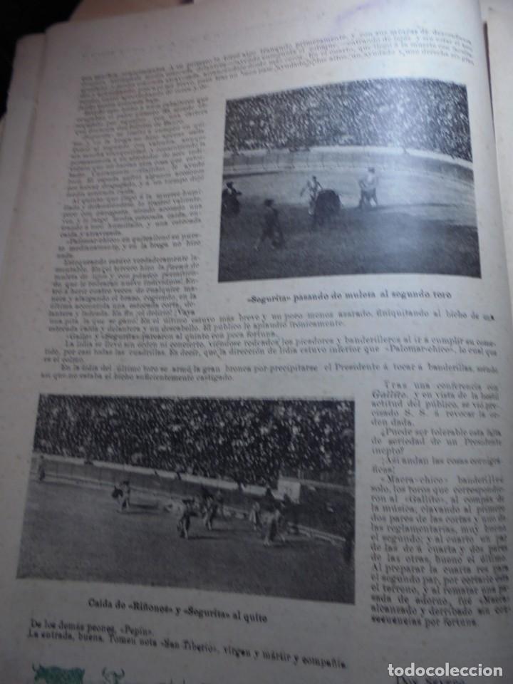 Tauromaquia: magnificas 8 revistas antiguas la ilustracion taurina del 1901 - Foto 11 - 247329780