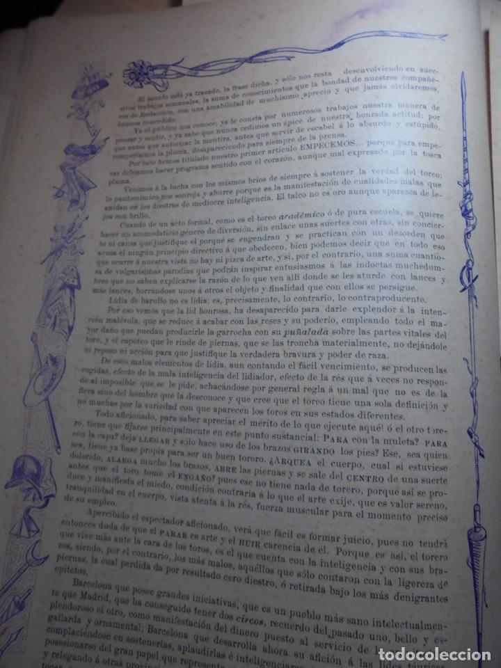 Tauromaquia: magnificas 8 revistas antiguas la ilustracion taurina del 1901 - Foto 13 - 247329780