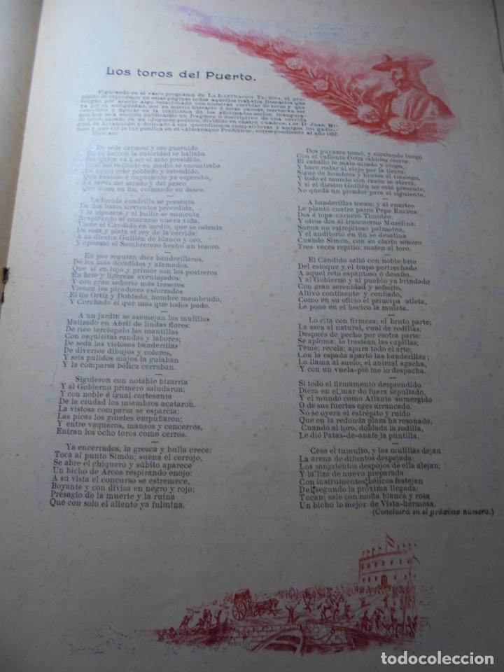 Tauromaquia: magnificas 8 revistas antiguas la ilustracion taurina del 1901 - Foto 16 - 247329780