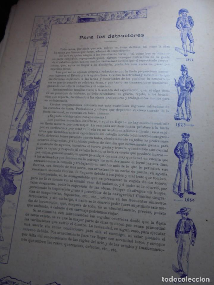 Tauromaquia: magnificas 8 revistas antiguas la ilustracion taurina del 1901 - Foto 17 - 247329780