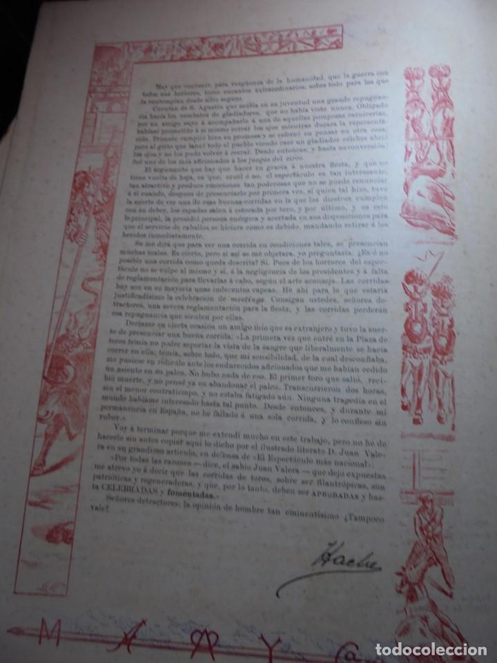 Tauromaquia: magnificas 8 revistas antiguas la ilustracion taurina del 1901 - Foto 19 - 247329780