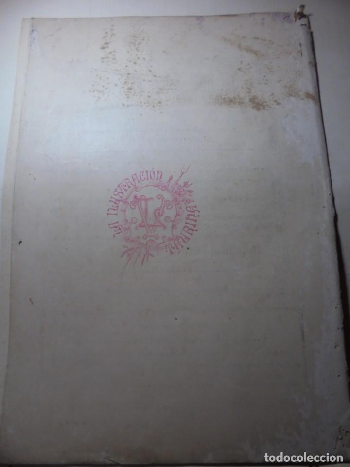 Tauromaquia: magnificas 8 revistas antiguas la ilustracion taurina del 1901 - Foto 25 - 247329780