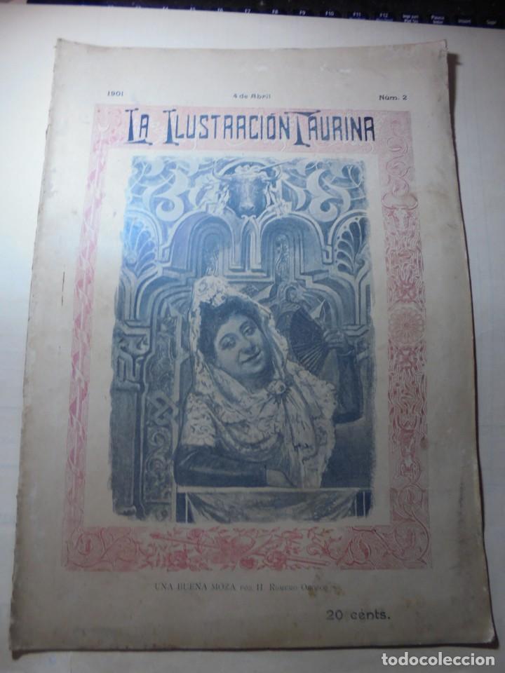 Tauromaquia: magnificas 8 revistas antiguas la ilustracion taurina del 1901 - Foto 26 - 247329780
